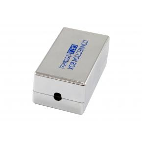 Image for product 'Equip 135621 Cat.6 Shielded Junction Box [Cat6e, 66 mm, 36 mm, ABS, Silver]'