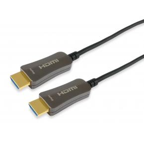 Image for product 'Equip 119433 HDMI 2.0 Active Optical Cable [HDMI Type A -> HDMI Type A3D, 18 Gbit/s, 100m, Black]'