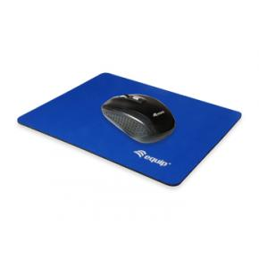 Image for product 'Equip 245012 Mouse Pad [Nylon,Rubber, Non-slip base, Monotone, Blue]'