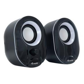 Image for product 'Equip 245333 Stereo 2.0 Speaker [2.0 channels, Wired, 3 W, 80 - 20 Hz, 40 O, Black/ White]'