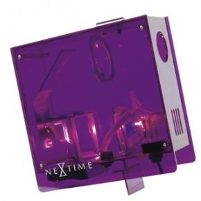 Image for product 'NeXtime 2751pa Projectieklok [18x18 cm, Purple]'