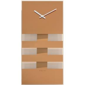 Image for product 'NeXtime 2855co Bold Stripes [38x19 cm, Copper]'