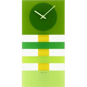 Image for product 'NeXtime 2855gn Bold Stripes [19 x 38 cm, Green]'