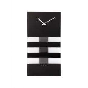 Image for product 'NeXtime 2855zw Bold Stripes [38x19 cm, Black]'
