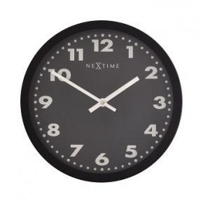Image for product 'NeXtime 2906ma Mercure [Ø 25 cm, Black]'