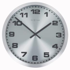 Image for product 'NeXtime 2906zw Mercure [Ø25 cm, Silver]'