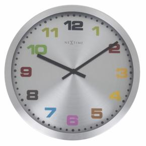 Image for product 'NeXtime 2907kl Mercure [Ø 44 cm, Aluminium]'