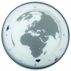 Image for product 'NeXtime 2990 Around the World [Ø34 cm, White]'