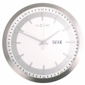 Image for product 'NeXtime 3009 Captain [Ø44 cm, White]'