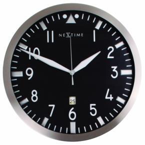 Image for product 'NeXtime 3010 Pilot [Ø44 cm, Black]'