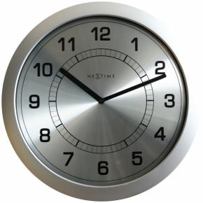 Image for product 'NeXtime 3045zi Super Slim [Ø28 cm, Silver]'
