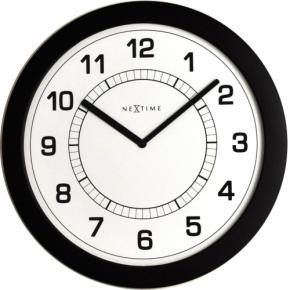 Image for product 'NeXtime 3045zw Super Slim [Ø28 cm, Black]'
