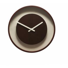 Image for product 'NeXtime klok 3047 Color Change, Ø28 cm, Wall, Brown'