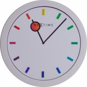 Image for product 'NeXtime 3048 Color Change [Ø28 cm, White/ Multi-color]'