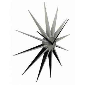 Image for product 'NeXtime 3051zi Nova [Ø50 cm, Black/ Silver]'