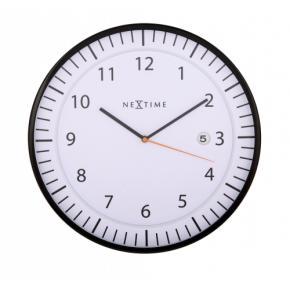 Image for product 'NeXtime 3058wi Quick [Ø35 cm, White/ Black]'