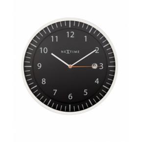 Image for product 'NeXtime 3058zw Quick [Ø35 cm, Black]'