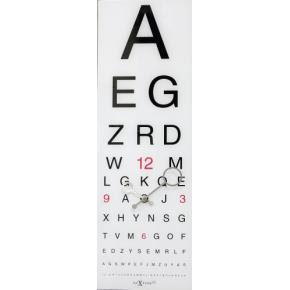 Image for product 'NeXtime 3067 Eyesight [75x25.4 cm, White/ Black]'