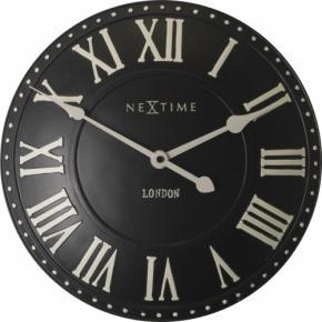 Image for product 'NeXtime 3083zw London Roman [Ø34.5 cm, Black/ White]'
