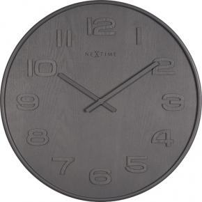 Image for product 'NeXtime 3095gs Wood Wood Big [Ø52.8 cm, Gray]'