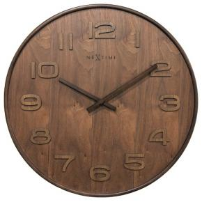 Image for product 'NeXtime 3096br Wood Wood Medium [Ø35.5 cm, Brown]'
