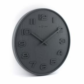 Image for product 'NeXtime 3096gs Wood Wood Medium [Ø35.5 cm, Gray]'