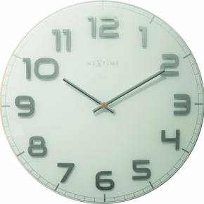 Image for product 'NeXtime 3105wi Classy Large [Ø50 cm, White/Gray]'