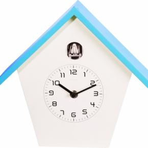 Image for product 'NeXtime 3108bl Birdy [24.5x25.5x9.8 cm, Blue/ White]'