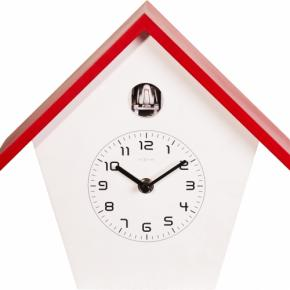 Image for product 'NeXtime 3108ro Birdy [24.5x25.5x9.8 cm, Red/ White]'