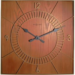 Image for product 'NeXtime 3112br Wood Square [50x50 cm, Brown]'