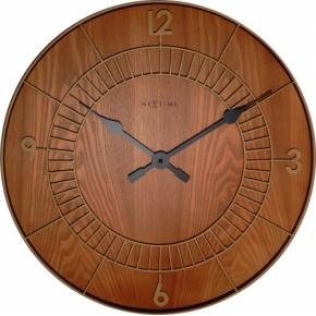 Image for product 'NeXtime 3113br Wood Round [Ø50 cm, Brown]'