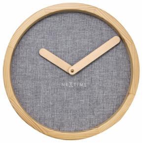 Image for product 'NeXtime 3155gs Calm [Ø30 cm, Gray]'