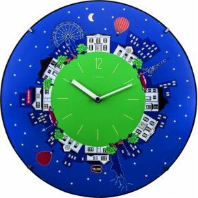 Image for product 'NeXtime 3178 Little Planet Dome [Ø35 cm, Blue]'