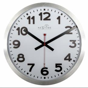 Image for product 'NeXtime 3999arrc Station, RCC (DCF) [Ø35 cm, White/ Black/ Red]'