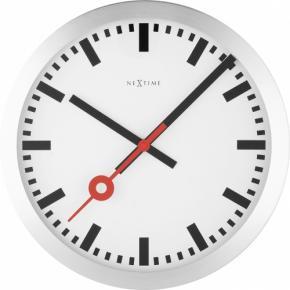 Image for product 'NeXtime 3999st Station [Ø35 cm, White/ Black/ Red]'