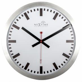 Image for product 'NeXtime 3999strc Station, RCC (DCF) [Ø35 cm, White/ Black/ Red]'