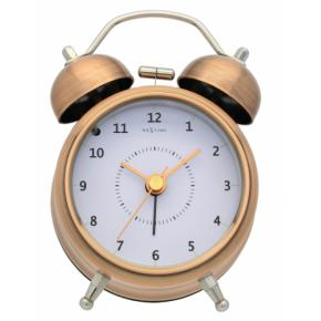 Image for product 'NeXtime 5111co Wake Up [8.7x12.2 cm, Black/ Copper]'