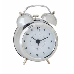 Image for product 'NeXtime 5111zi Wake Up [8.7x12.2 cm, Silver/ White]'