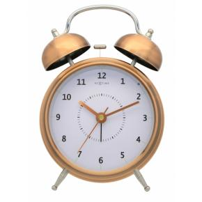 Image for product 'NeXtime 5112co Wake Up [15x21.5 cm, Copper/ Black]'