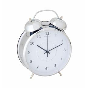 Image for product 'NeXtime 5113zi Wake Up [23x30 cm, Silver/ White]'
