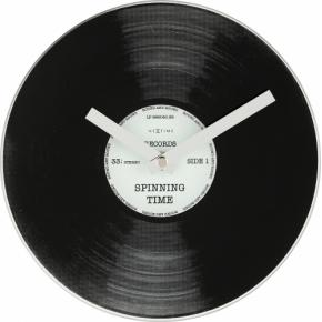 Image for product 'NeXtime 5163 Little Spinning Time [Ø20 cm, Black]'