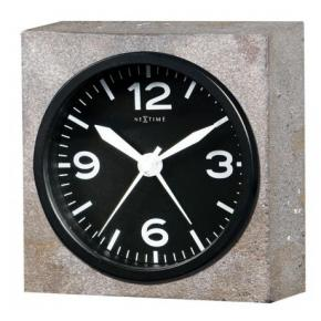 Image for product 'NeXtime 5167 Real Time Heavy Metal [9.5x9.5x3.2 cm, Gray]'