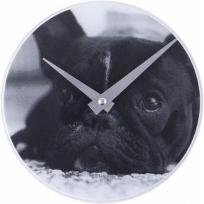 Image for product 'NeXtime 5173 Little Dog [Ø20 cm, Black]'