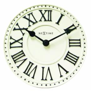 Image for product 'NeXtime 5187wi London Table [Ø16 cm, White/ Black]'