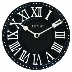 Image for product 'NeXtime 5187zw London Table [Ø16 cm, Black/ White]'