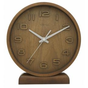 Image for product 'NeXtime 5192br Wood Wood Small [22x20 cm, Wood, Copper/ Black]'