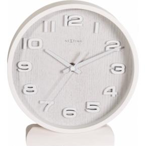 Image for product 'NeXtime 5192wi Wood Wood Small ]22x20 cm, White]'