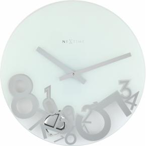 Image for product 'NeXtime 8115 Dropped [Ø43 cm, Silver]'