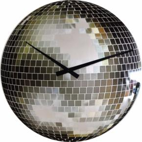 Image for product 'NeXtime 8124 Disco [Ø43 cm, Silver glossy]'