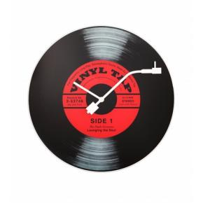 Image for product 'NeXtime 8141 Vinyl Tap [Ø43 cm, Red/ Black]'